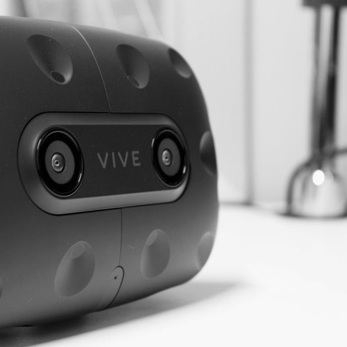 Innovations d'aménagements démontré par un casque de réalité virtuelle